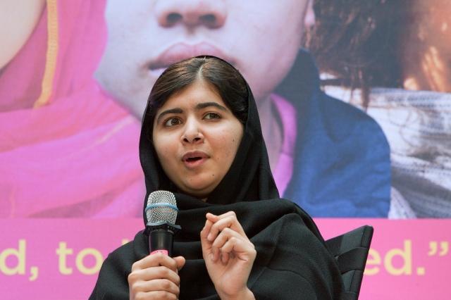 Unerschrocken kämpft sie für Bildung und ist damit den Taliban ein Dorn im Auge: Malala Yousafzai, die Friedensnobelpreisträgerin 2014. Herzlichen Glückwunsch!